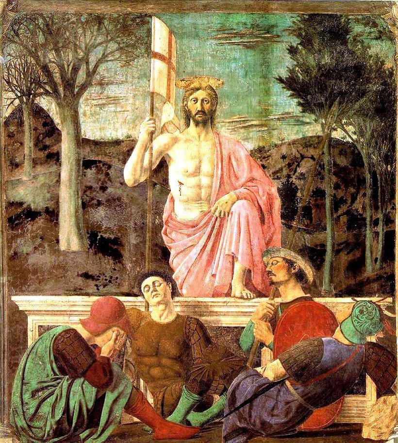 La resurrezione di Cristo, Piero della Francesca