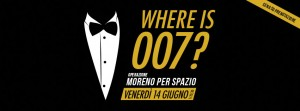 Where is 007?