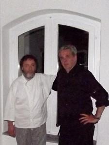 Da sinistra, Walter Eynard ed Elder Rivoira