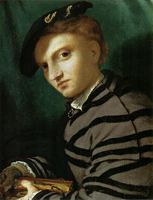 Ritratto di giovane con il libro, Museo d'Arte Antica del Castello Sforzesco