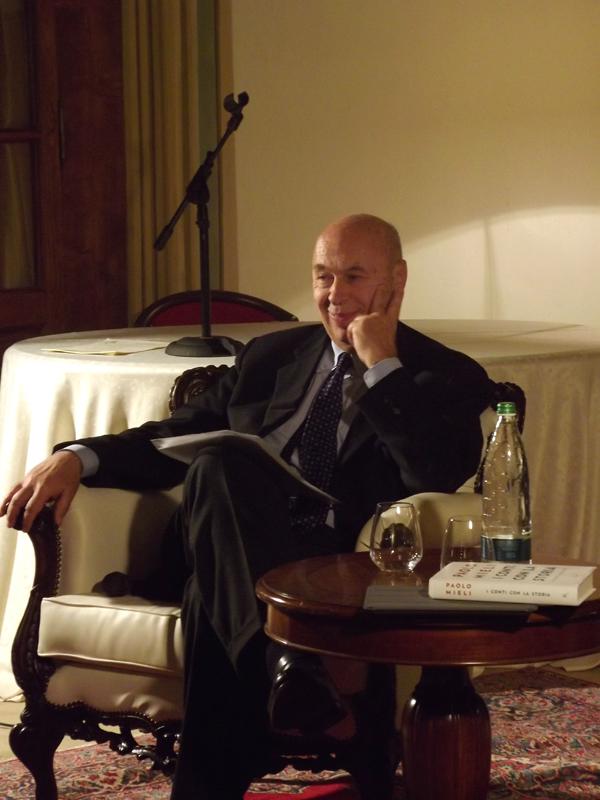 Paolo Mieli al Somaschi Hotel