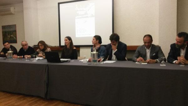 Conferenza stampa a Borgaro Torinese