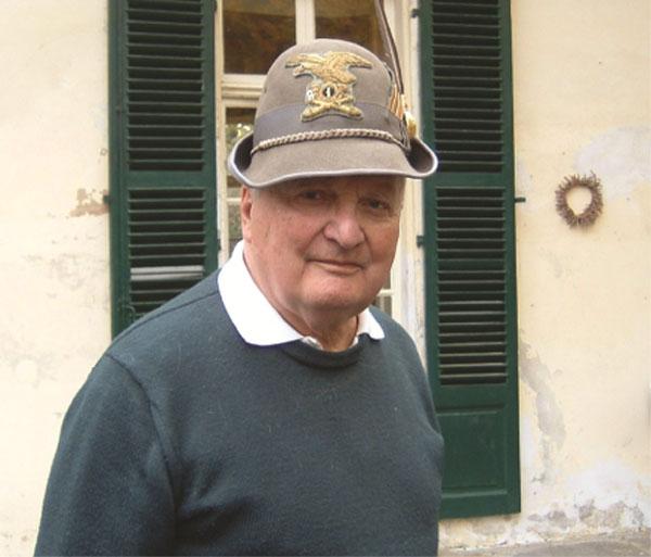 Italo Pennaroli, Capo Gruppo Alpini di Villarbasse