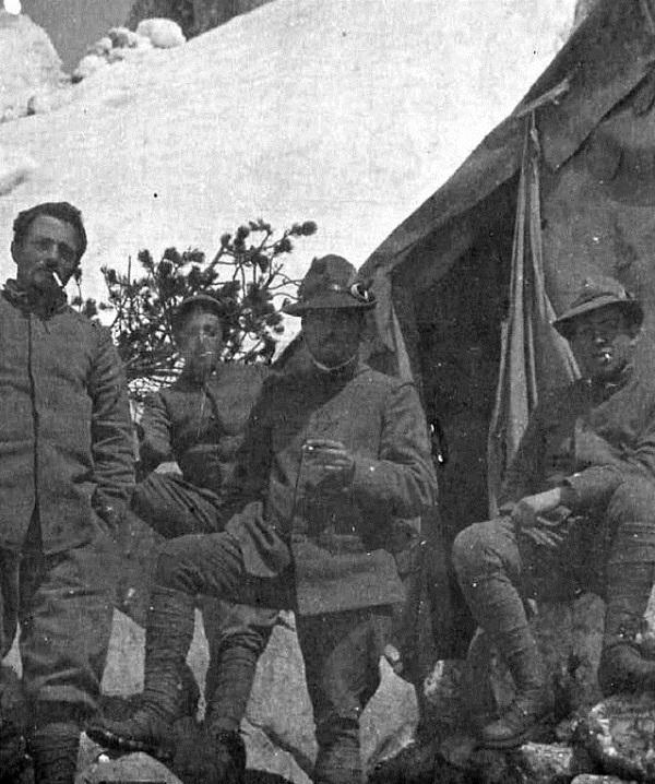 Alpini nella Prima Guerra Mondiale