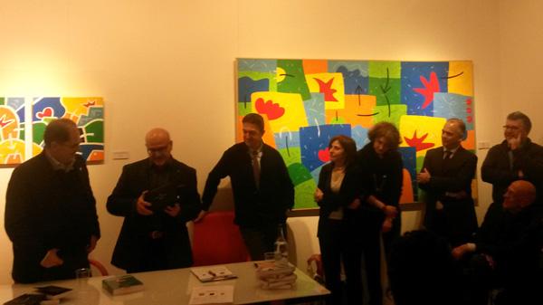 Paolo Massobrio con lo staff di Punto 65