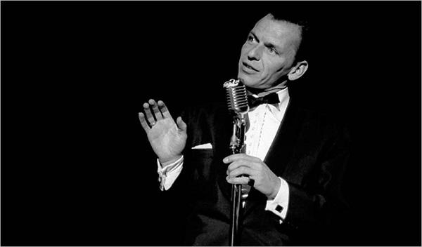 Frank Sinatra a Las Vegas negli anni '60 - www.sinatra.com