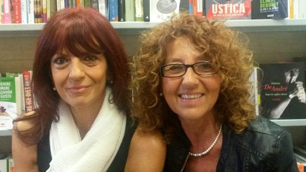 Da sinistra, Romana Petri e Antonella Menzio
