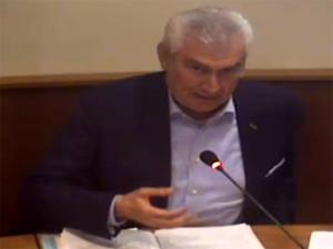 Il sindaco Franco Dessì