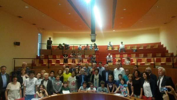 """Il Consiglio comunale ragazzi ha presentato il progetto """"Verso la pace"""""""