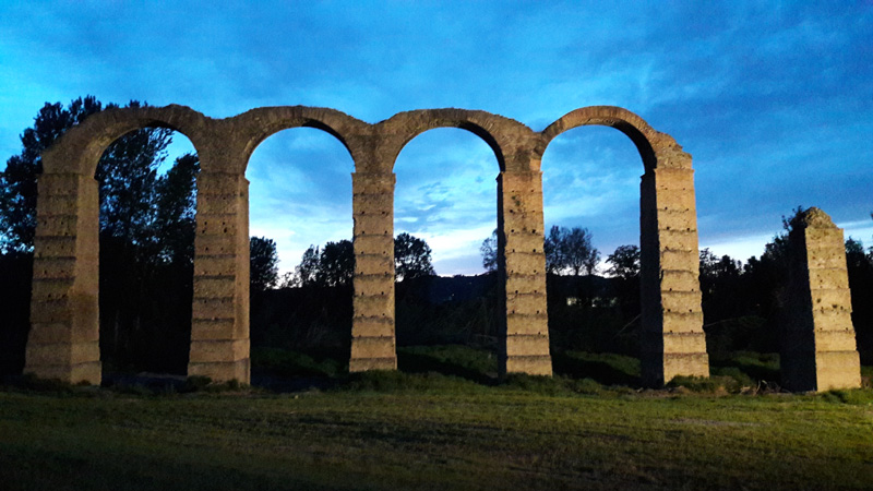 Acqui Terme, l'acquedotto romano (I secolo d.C.)