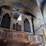 L'organo Bernasconi a Volpiano (foto Rigola Organi)