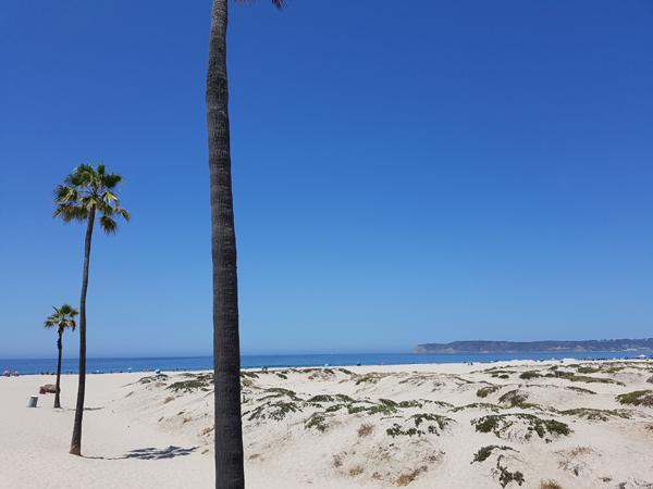 La spiaggia di Coronado