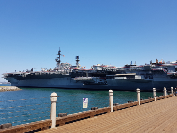 La portaerei Midway