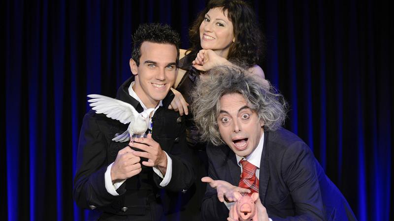 Da sinistra Luca Bono, Sabrina Iannece, Francesco Scimemi (Foto Paolo Ranzani)