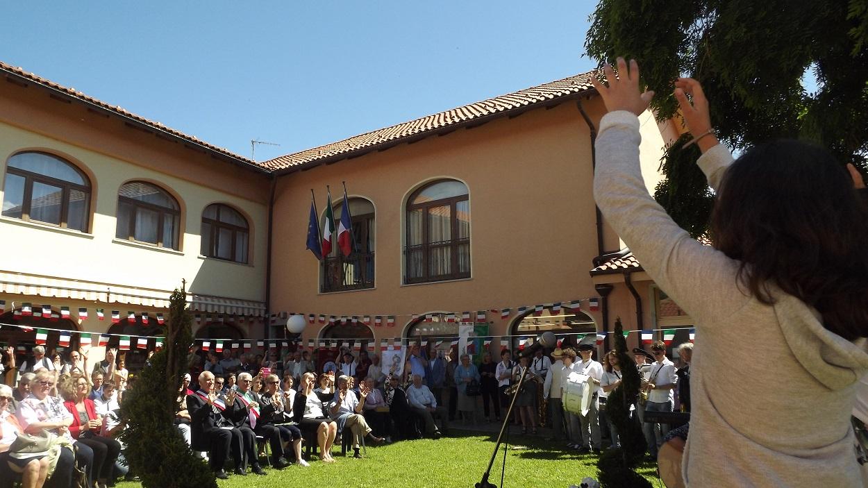 Festa del gemellaggio tra Villarnasse e Chignin