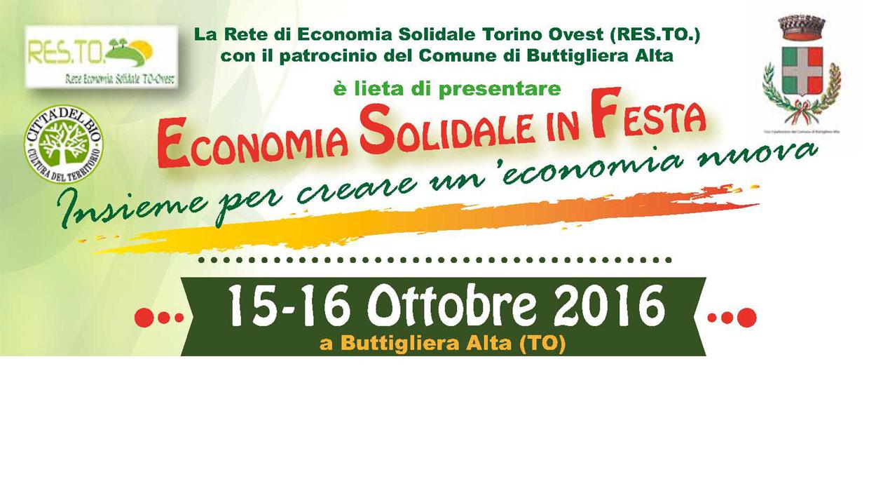 Economia solidale a Buttigliera Alta 2016